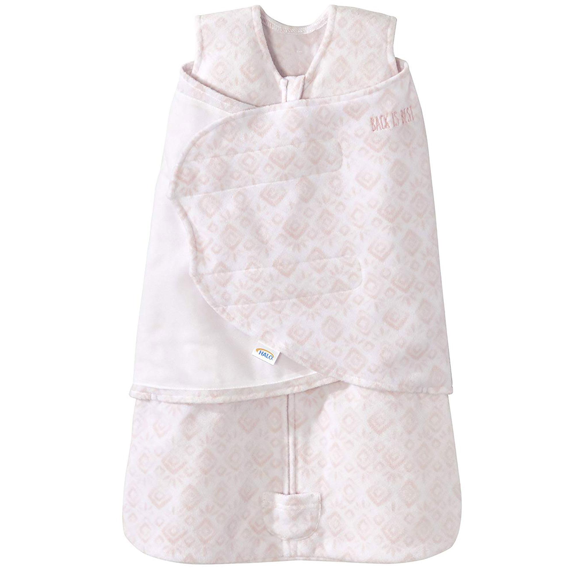 6cbd40fd89 Details about Halo Micro Fleece SleepSack Swaddle Wearable Blanket