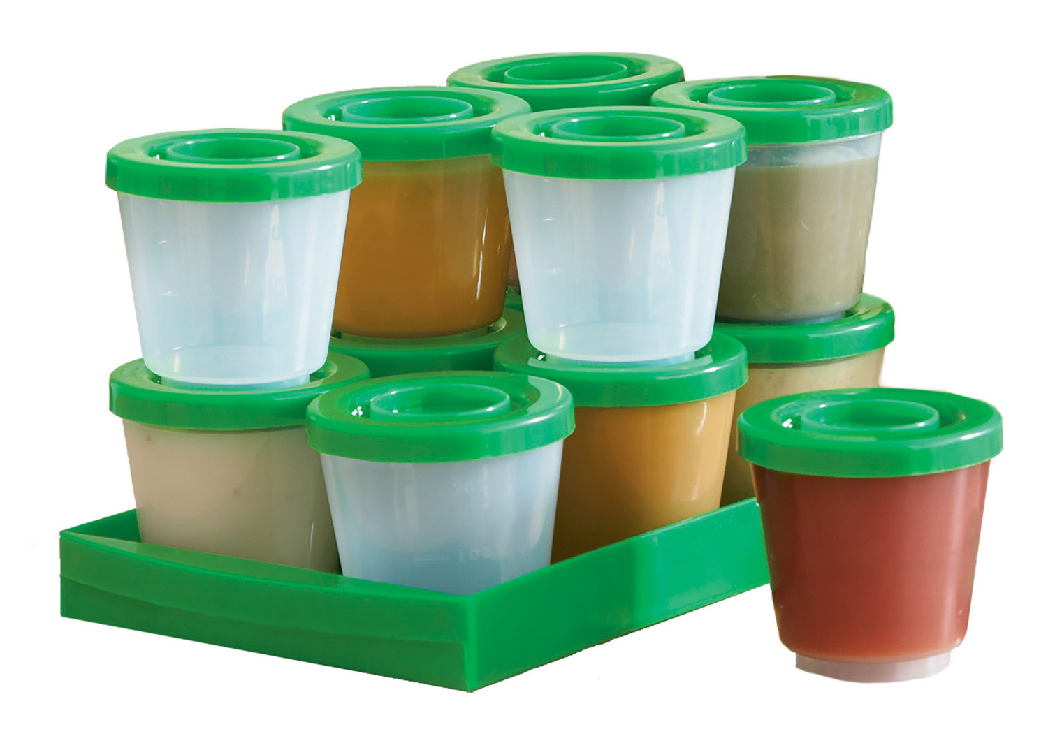 Baby Food Storage Freeze Containers